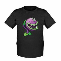 Детская футболка Planta carnivora