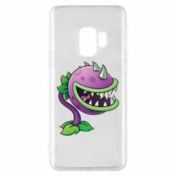 Чехол для Samsung S9 Planta carnivora