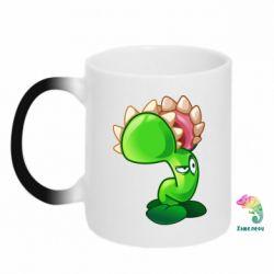 Кружка-хамелеон Plants flower