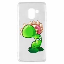 Чохол для Samsung A8 2018 Plants flower