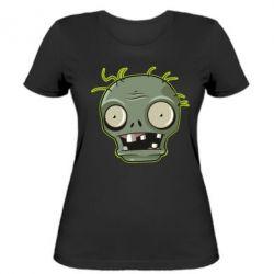 Жіноча футболка Plants vs zombie head