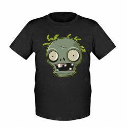 Дитяча футболка Plants vs zombie head