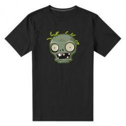 Чоловіча стрейчева футболка Plants vs zombie head