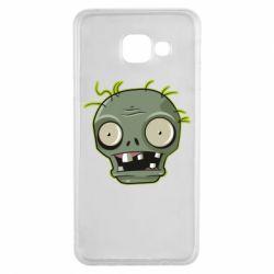 Чохол для Samsung A3 2016 Plants vs zombie head