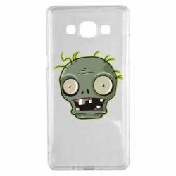 Чохол для Samsung A5 2015 Plants vs zombie head