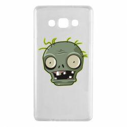 Чохол для Samsung A7 2015 Plants vs zombie head
