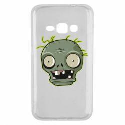 Чохол для Samsung J1 2016 Plants vs zombie head
