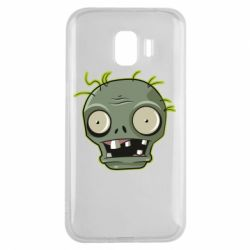 Чохол для Samsung J2 2018 Plants vs zombie head