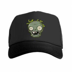 Кепка-тракер Plants vs zombie head