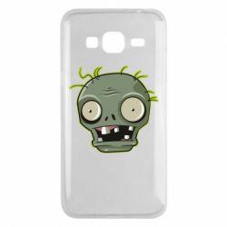 Чохол для Samsung J3 2016 Plants vs zombie head