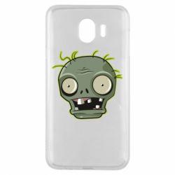 Чохол для Samsung J4 Plants vs zombie head