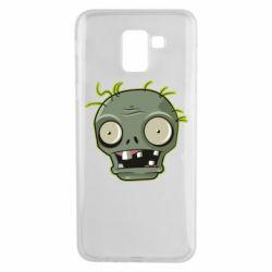 Чохол для Samsung J6 Plants vs zombie head