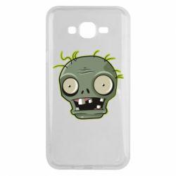 Чохол для Samsung J7 2015 Plants vs zombie head