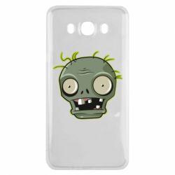 Чохол для Samsung J7 2016 Plants vs zombie head