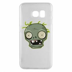 Чохол для Samsung S6 EDGE Plants vs zombie head