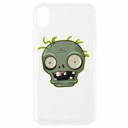 Чохол для iPhone XR Plants vs zombie head