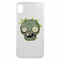 Чохол для iPhone Xs Max Plants vs zombie head