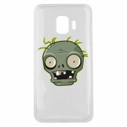 Чохол для Samsung J2 Core Plants vs zombie head