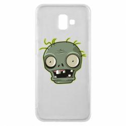 Чохол для Samsung J6 Plus 2018 Plants vs zombie head
