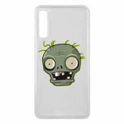 Чохол для Samsung A7 2018 Plants vs zombie head