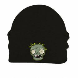 Шапка на флісі Plants vs zombie head
