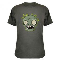 Камуфляжна футболка Plants vs zombie head