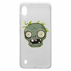 Чохол для Samsung A10 Plants vs zombie head