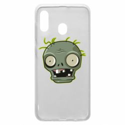 Чохол для Samsung A20 Plants vs zombie head