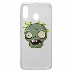 Чохол для Samsung A30 Plants vs zombie head