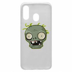 Чохол для Samsung A40 Plants vs zombie head