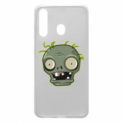 Чохол для Samsung A60 Plants vs zombie head