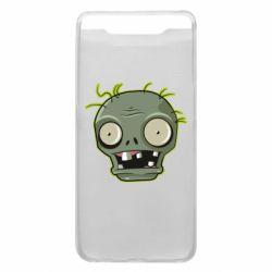 Чохол для Samsung A80 Plants vs zombie head