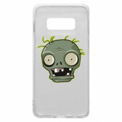 Чохол для Samsung S10e Plants vs zombie head