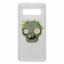 Чохол для Samsung S10 Plants vs zombie head