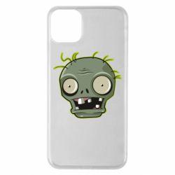 Чохол для iPhone 11 Pro Max Plants vs zombie head