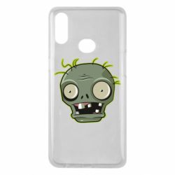 Чохол для Samsung A10s Plants vs zombie head