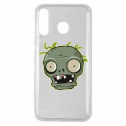 Чохол для Samsung M30 Plants vs zombie head