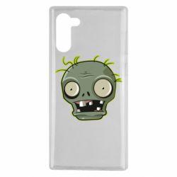 Чохол для Samsung Note 10 Plants vs zombie head