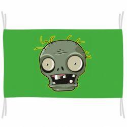 Прапор Plants vs zombie head