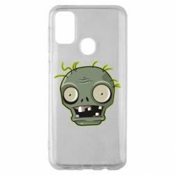 Чохол для Samsung M30s Plants vs zombie head