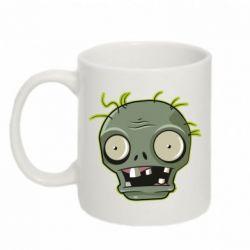 Кружка 320ml Plants vs zombie head