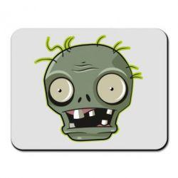 Килимок для миші Plants vs zombie head