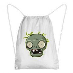 Рюкзак-мішок Plants vs zombie head