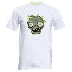 Чоловіча спортивна футболка Plants vs zombie head