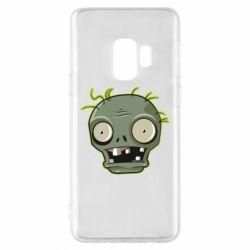 Чохол для Samsung S9 Plants vs zombie head