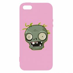 Купить Игры, Чехол для iPhone5/5S/SE Plants vs zombie head, FatLine