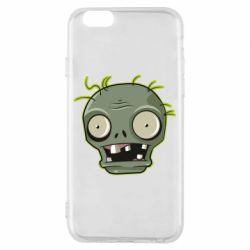 Чохол для iPhone 6/6S Plants vs zombie head