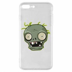 Чохол для iPhone 8 Plus Plants vs zombie head