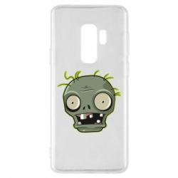 Чохол для Samsung S9+ Plants vs zombie head