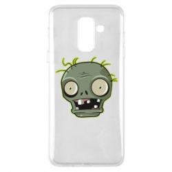 Чохол для Samsung A6+ 2018 Plants vs zombie head